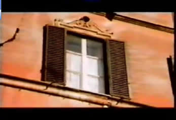 Morricone childhood's old flat in the Di Trastevere of Rome
